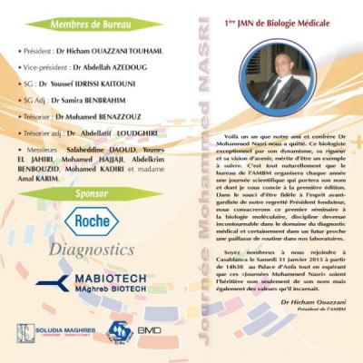 Journée Mohamed NASRIMabiotech / Le système GeneXpert : Applications dans le diagnostic microbiologique. Dr Najoua EL HELALI, Chef de service de Microbiologie Hôpital Paris-Saint-Joseph Paris (Mabiotech)